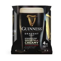 Guinness Draught Stout Beer 4CT 14.9oz Cans *ID Required* product image