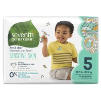 Seventh Generation Diapers Size 5 (27 plus LBS) 23CT PKG product image
