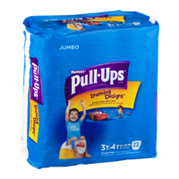 Huggies Pull-Ups Training Pants Learning Designs 3T-4T Boys Jumbo Pack 22CT product image