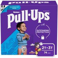 Huggies Pull-Ups 2T-3T Boys 18-34 LBS 74CT PKG product image