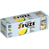 Fuze Diet Iced Tea Drink with Lemon 12PK of 12oz Cans product image
