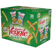 Sensible Portions Veggie Snacks Variety 1oz Snack Bags 36CT Box product image