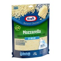 Kraft 2% Milk Shredded Mozzarella Cheese 7oz PKG product image