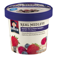 Quaker Real Medleys Summer Berry Oatmeal 2.46oz Cup product image