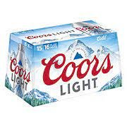 Coors Light Beer 9CT 16oz Screw Top Aluminum Pint *ID Required* product image