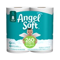 Angel Soft Bath Tissue Double Roll 2-Ply Unscented 4CT product image