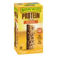 Nature Valley Protein Chewy Peanut Butter Dark Chocolate Bars 30CT product image