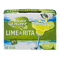 Bud Light Lime-A-Rita Beer 12CT 8oz Cans *ID Required* product image