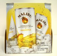 Malibu Cocktail Can Rum & Pineapple 4PK 6.8oz Cans *ID Required* product image