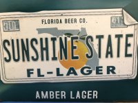 Florida Beer Company Sunshine State FL Lager 6CT 12oz Bottles *ID Required* product image