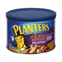 Planters Deluxe Mixed Nuts Lightly Salted 8.75oz Can product image