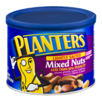 Planters Mixed Nuts Lightly Salted 10.3oz Can product image