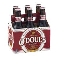 O'Doul's Amber Non-Alcohol Brew Malt Beverage 6CT 12oz Bottles product image