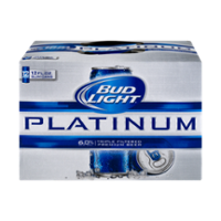 Bud Light Platinum Beer 12CT 12oz Cans *ID Required* product image