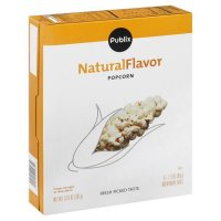 Store Brand Natural Flavor Microwave Popcorn 6 Pack of 2.3oz Bags product image