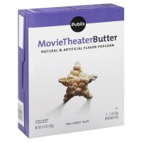 Store Brand Movie Theater Butter Microwave Popcorn 6 Pack of 2.4oz Bags product image