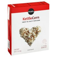 Store Brand Kettle Corn Microwave Popcorn 6 Pack of 2.4oz Bags product image