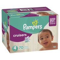 Pampers Cruisers Diapers Size 4 (22-37LB) 70CT PKG product image