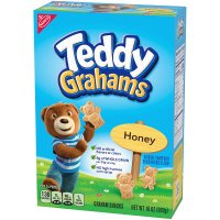 Nabisco Honey Maid Teddy Grahams Honey Graham Snacks 10oz Box product image