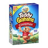 Nabisco Honey Maid Teddy Grahams Cinnamon Graham Snacks 10oz Box product image