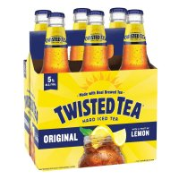 Twisted Tea Original Hard Iced Tea Malt Beverage  6CT 12oz Bottles *ID Required* product image