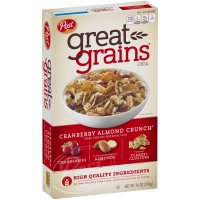 Post Great Grains Cranberry Almond Crunch 14 oz Box product image