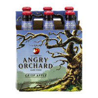 Angry Orchard Crisp Apple Hard Cider 6CT 12oz Bottles *ID Required* product image