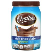 Ovaltine Rich Chocolate Mix 12oz Canister product image