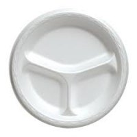 Store Brand Foam Compartment Plates 10.25 inch 24CT product image