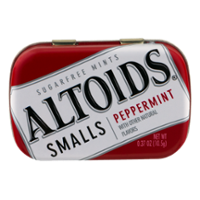 Altoids Smalls Peppermint Sugar-Free 50 mints .37 oz product image