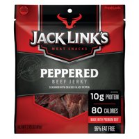 Jack Link's Meat Snacks Peppered Beef Jerky 2.85oz PKG product image