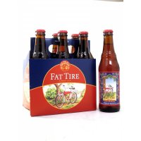 New Belgium Fat Tire Amber Ale Beer 6CT 12oz Bottles *ID Required* product image