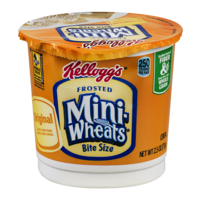 Kellogg's Frosted Mini Wheats Bite Size Cereal Single 2.5oz Cup product image