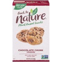 Back To Nature Cookies Chocolate Chunk 9.5oz PKG product image