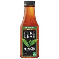 Pure Leaf Brewed Tea Unsweetened Black Tea 16.9 oz BTL product image