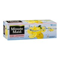 Minute Maid Pink Lemonade 12PK of 12oz Cans product image