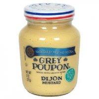 Grey Poupon Dijon Mustard Made with White Wine 8oz Jar product image