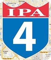 Orlando Brewing I-4 IPA India Pale Ale Beer 6CT 12oz Bottles *ID Required* product image