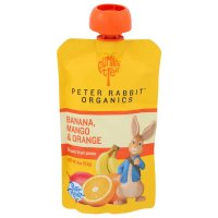 Peter Rabbit Organics Mango, Banana & Orange Fruit Snack 4oz Pouch product image