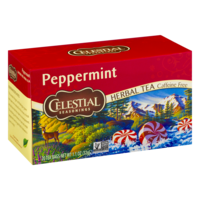 Celestial Seasonings Peppermint Caffeine Free Herbal Tea Bags 20CT PKG product image