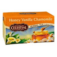 Celestial Seasonings Honey Vanilla Chamomile Caffeine Free Herbal Tea Bags  20 CT Box product image