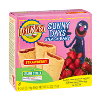 Earth's Best Sunny Days Strawberry Snack Bars 8CT Box product image