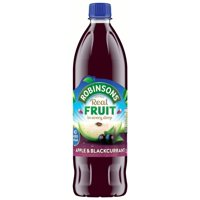 Robinsons Juice Drink Apple & Blackcurrant 33.8oz Bottle product image
