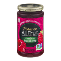 Polaner All Fruit Spreadable Fruit Seedless Raspberry 15.25oz Jar product image