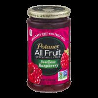 Polaner All Fruit Spreadable Fruit Seedless Raspberry 15.25oz Jar product image