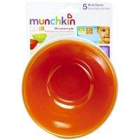 Munchkin Multi Colored 12oz Bowls 5PK product image