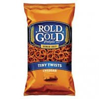Rold Gold Tiny Twist Pretzels Cheddar Cheese 10oz Bag product image