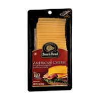 Boar's Head Pre Sliced Yellow American Cheese 8oz product image
