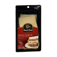 Boar's Head Pre Sliced Swiss Cheese 7oz product image