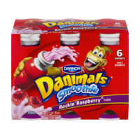 Dannon Danimals Drinkable Yogurt Rockin' Raspberry  6CT of 3.1oz BTLS product image